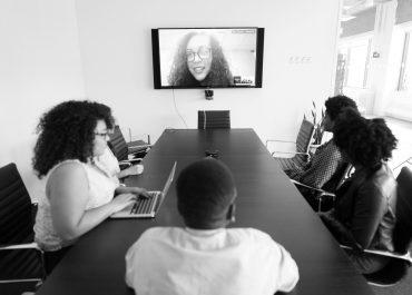 Organizzazione aziendale con la videoconferenza